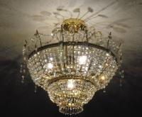 Hand-cut Crystal Chandelier