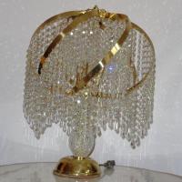 Matching Crystal Lamp