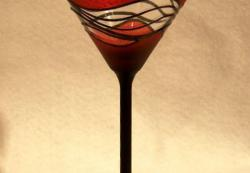Burnt Orange Martini
