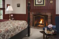 Fireplace in the Oak Room