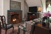 Fireplace in Walnut Room