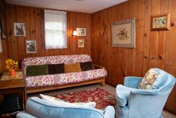 Knotty Pine Cabin 12 Sitting Area