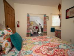 Paisley and Wicker Room