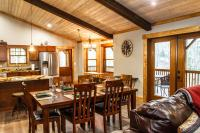 Cabin vacation rental in Asheville, NC with full kitchen
