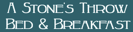 A Stone's Throw Bed & Breakfast secure online reservation system