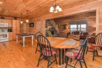 Living room, dining room, kitchen