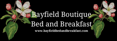 Bayfield bed and Breakfast secure online reservation system