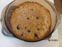 Baked oatmeal is one of our guest's favoritd dishes we make