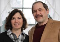 hosts Ed & Stephanie Hersh