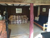 Living room of Family Cabin Suite