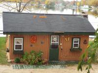Cabin #1 Front Door