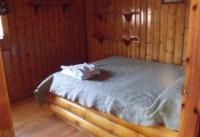 Cabin #3 - Lakefront master bedroom includes full size bed