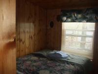Cabin #4 - Lakeside Bedroom includes a full size bed