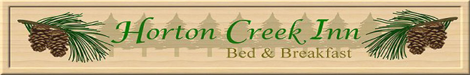 Horton Creek Inn secure online reservation system