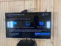 Flat screen TV with DirectTv