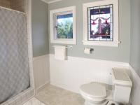 Shared bathroom for the Rose and Flower Rooms