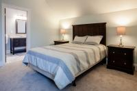 2 side tables, King bed
