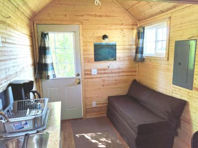 First Floor of tiny house