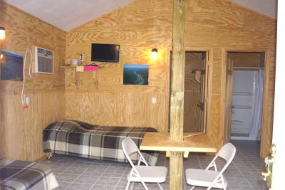 New River Cabin # 7 Main room