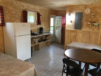 New River Cabin # 8 interior
