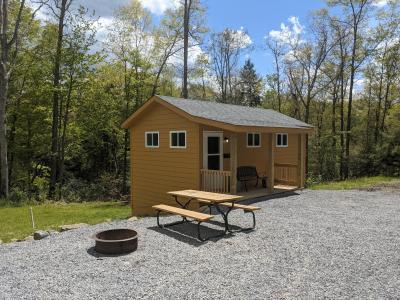 New River cabin # 8 exterior