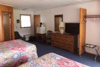 Showboat Motel: Room 44 -  Two Queen Beds, TV, Dresser and Mini-Fridge