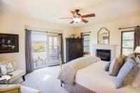 Siena Guest Suite, View of Bedroom, The Canyon Villa, Paso Robles