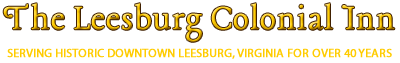 The Leesburg Colonial Inn secure online reservation system