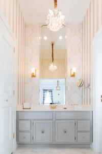 Beautifully appointed Marble Bathroom